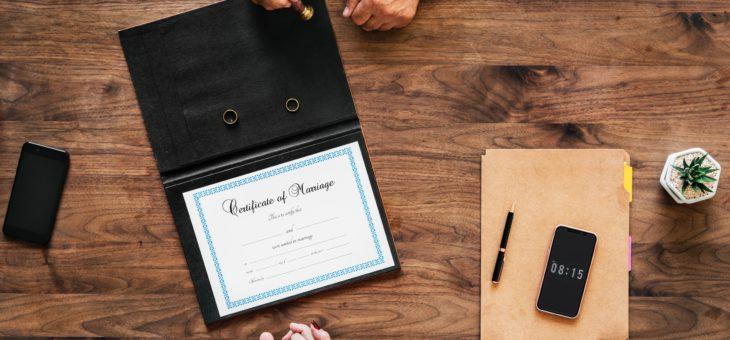 Matrimonio in un comune diverso da quello di residenza