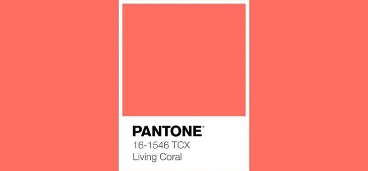 IL LIVING CORAL COLORE PANTONE DEL 2019