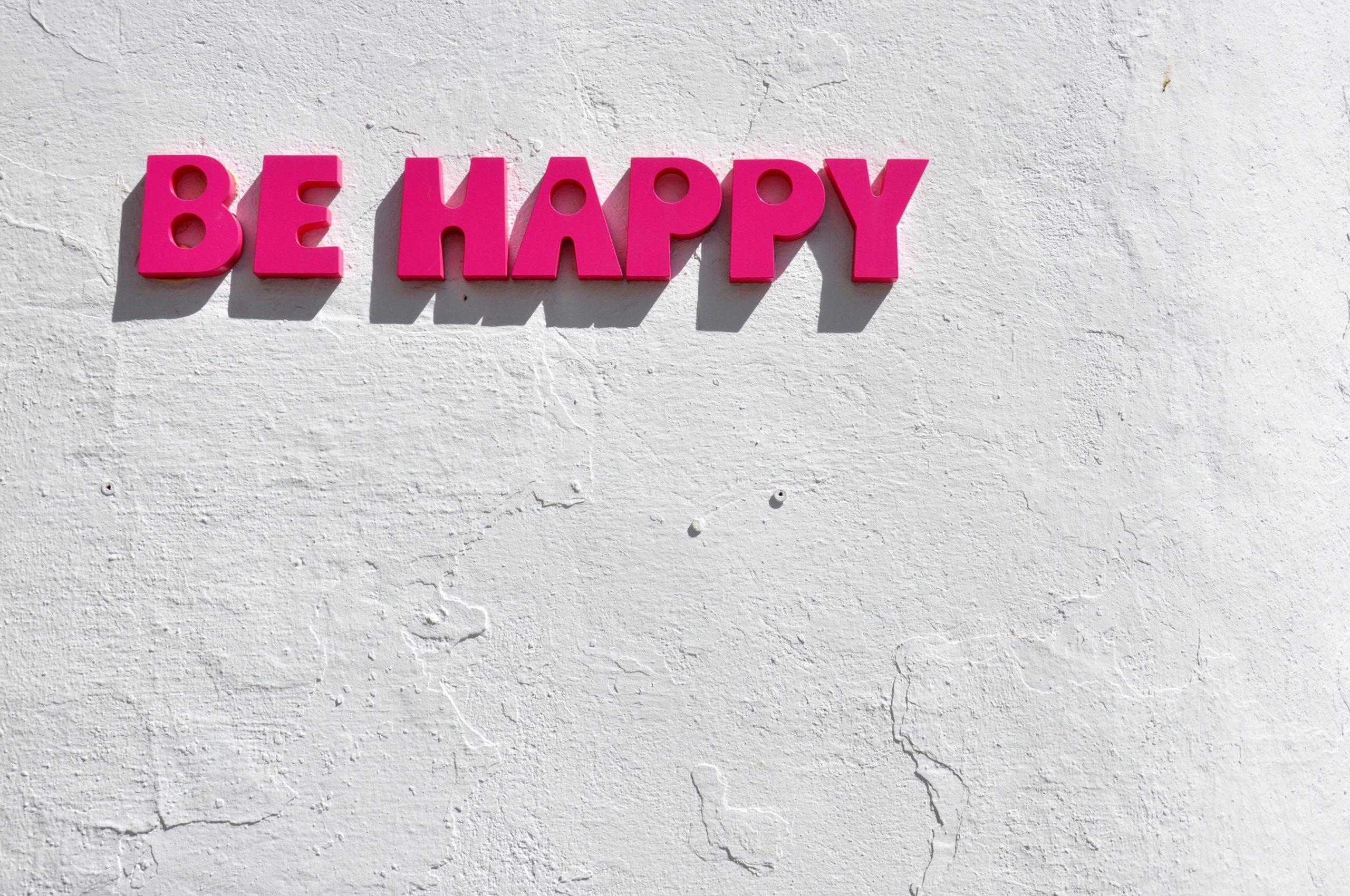Come essere felici rimanendo a casa